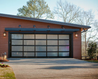Glass Garage Doors Gallery
